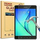 Galaxy Tab A 8.0protector de visualización, Pasonomi® [Dureza de 9H] [Crystal Clear] [resistente a arañazos] Premium Film Protector de visualización de vidrio templado para Samsung Galaxy Tab A 8.0SM-T3502015Release