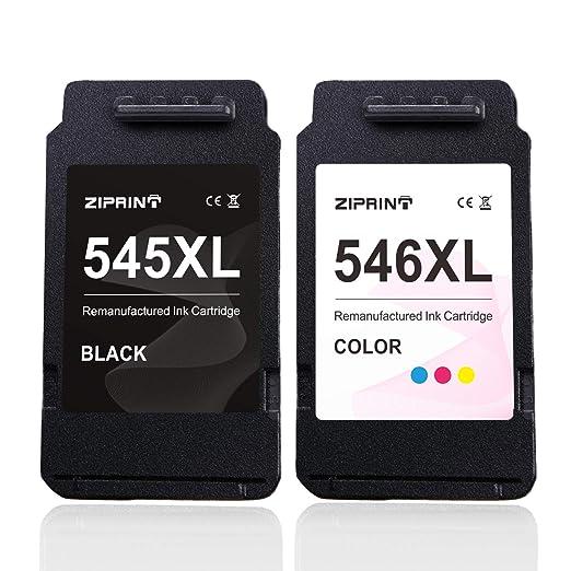 ZIPRINT Compatible Canon PG-545XL CL-546XL Cartucho 2 Multipack ...