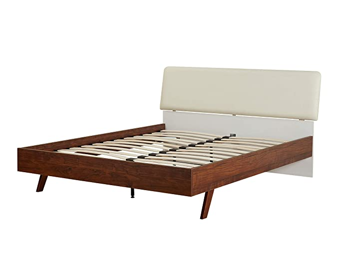 Amazon.com: Simple Living Cassie Mid-Century Queen cama ...