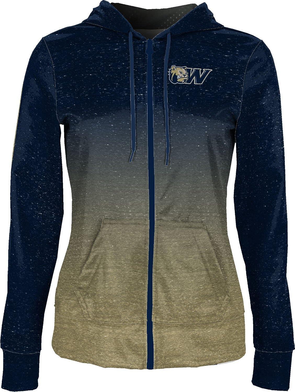 Ombre School Spirit Sweatshirt ProSphere Wingate University Girls Pullover Hoodie