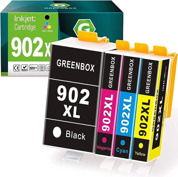 Updated 2021 – Top 10 Hp 902 Ink Cartridges For Hp Printers