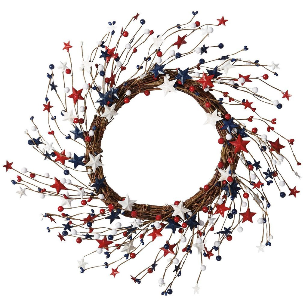 Heart of America 4th of July Wreath