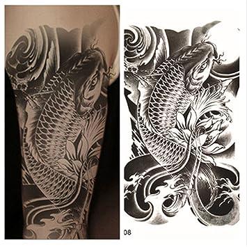 LZC Nuevo 15x21 Tatuaje Temporal Adulto para Hombro Grande y Real ...