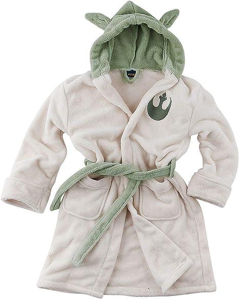 Small) Yoda Childrens Dressing Gowns - Star Wars Bathrobe ...