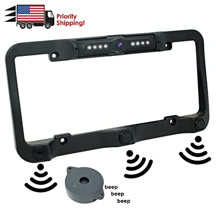 Ebay Motors Waterproof 170° Ntsc License Plate Car Rear View Backup Reverse Parking Camera Parts & Accessories