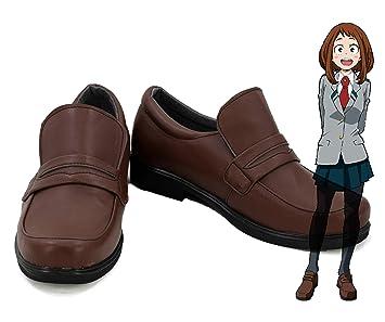 Amazon.com: Telacos My Hero Academia Ochako Uraraka Zapatos ...