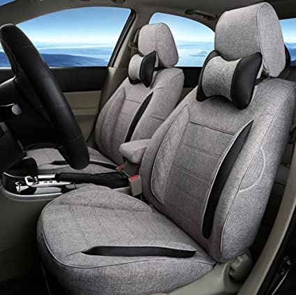PEUGEOT 206 LUXURY ORTA GREY FULL CAR SEAT COVER SET 98+