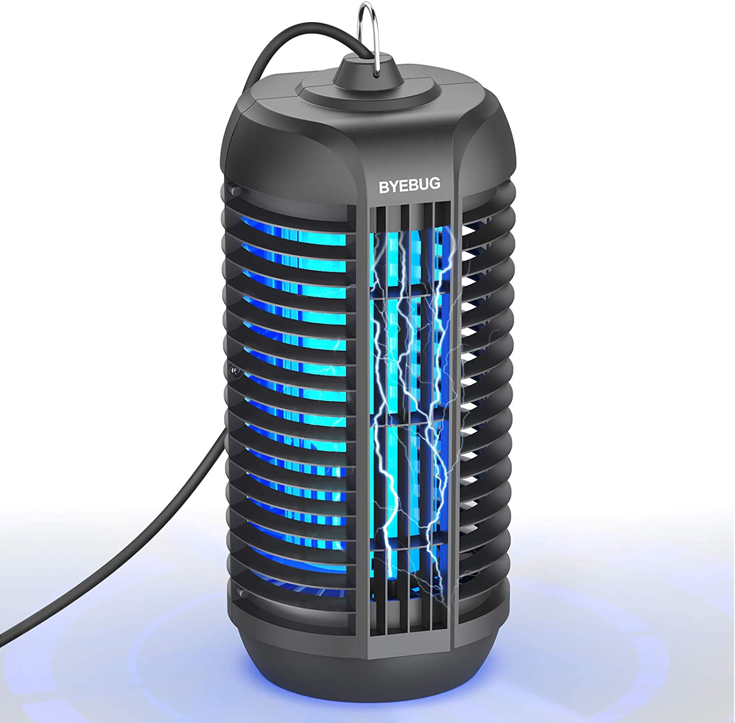 BYEBUG Bug Zapper, 4200V Electric Mosquito Zapper, Fly Insect Trap for Indoor & Outdoor, Mosquito Killer Lamp for Backyard, Patio, Home, Room