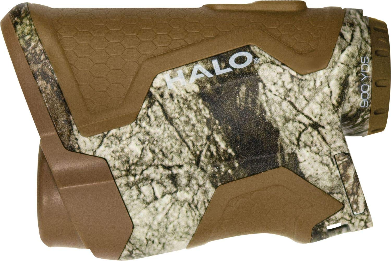 Halo Optics XR900 Series 6X 900 Yd. Hunting Laser Range Finder with Scan Mode, Camo by Halo Optics