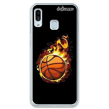 dakanna Funda para Samsung Galaxy A30   Balón de Baloncesto en ...