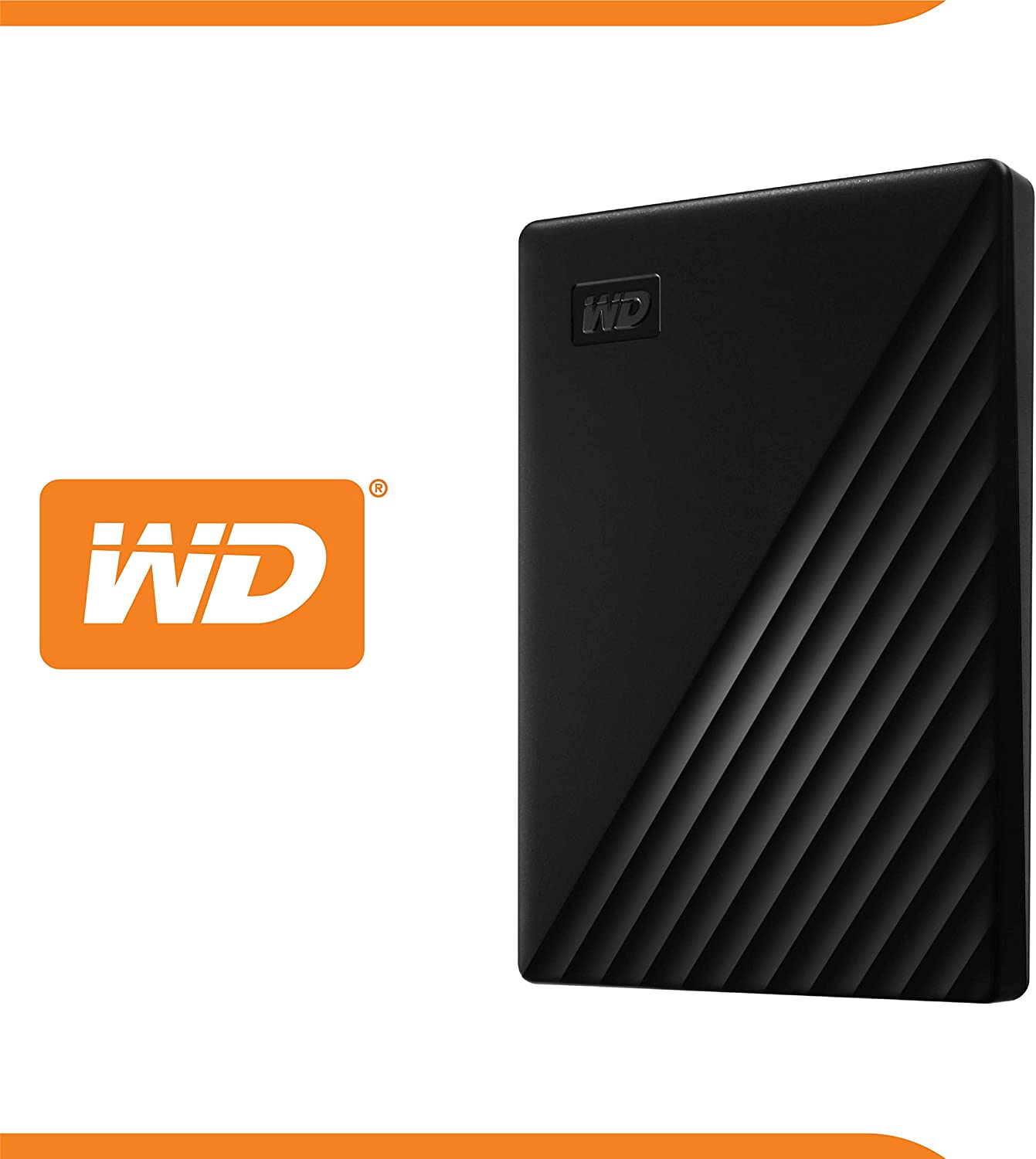 WD 1TB My Passport Portable External Hard Drive, Black - WDBYVG0010BBK-WESN