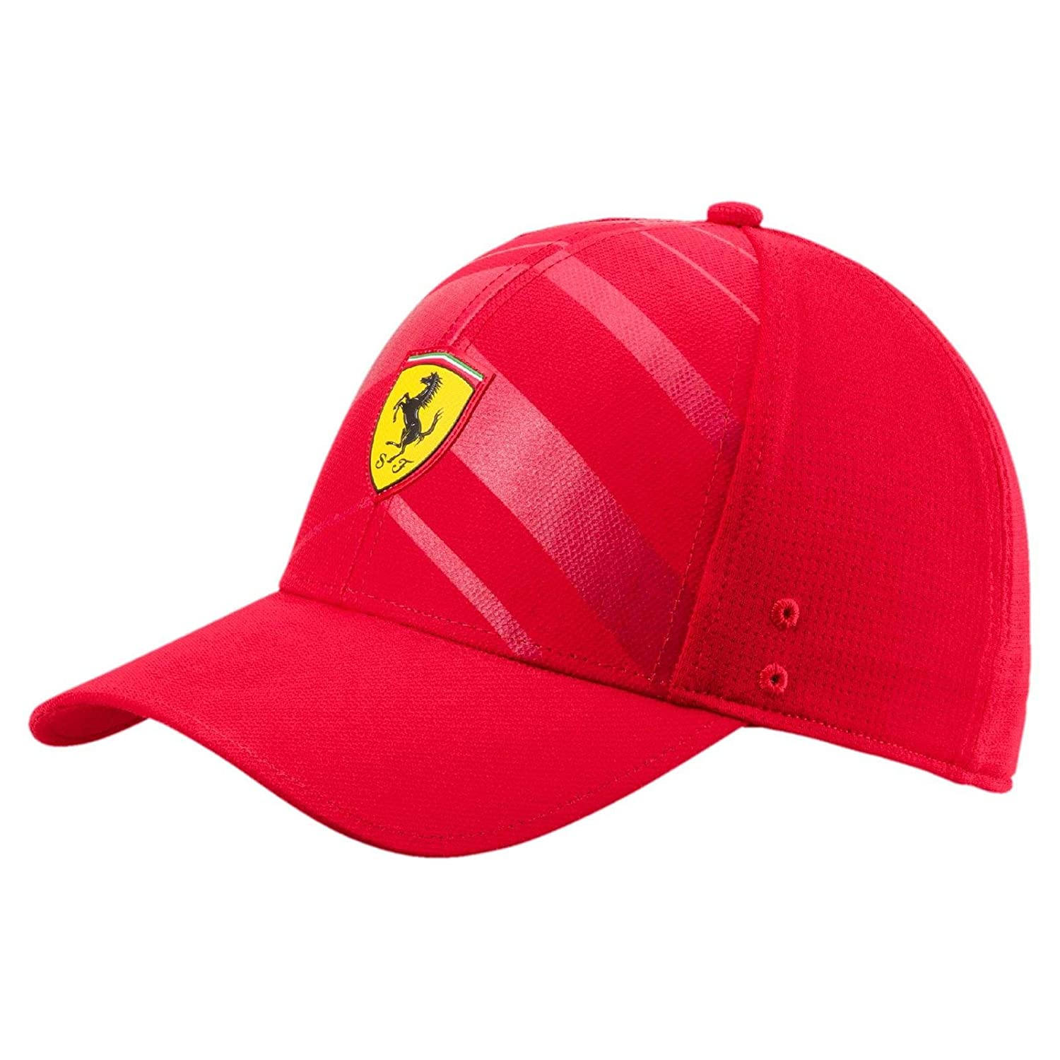 Amazon.com  PUMA Ferrari Fanwear Tech Baseball Hat Unisex Cap Auto  Sports    Outdoors 0505cf116c5