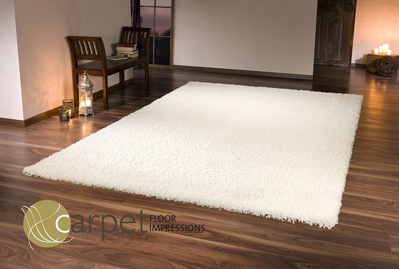 Shaggy Hochflor Teppich Silber Grau in 160x230 160x230 160x230 cm c4d435