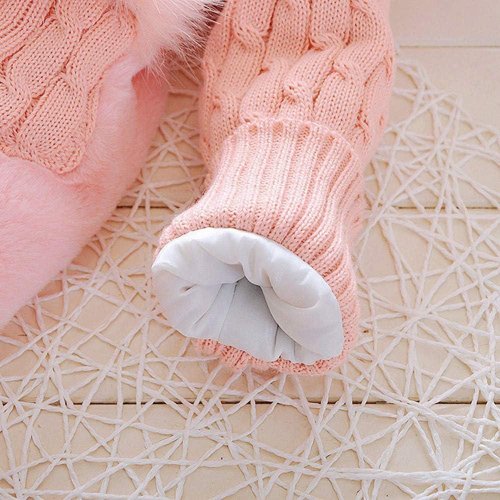 0-5 Anni Capispalla Bambina Ragazze con Cappuccio E Silenziatore Cotton Caldo Addensare Antivento Giacche Imbottito Giubbotti Mbby Cappotto di Piumino Neonato Invernale