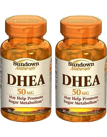 Sundown Naturals DHEA Energy Enhance Dietary Supplement Tablets, 50 mg, 60-Count Bottles