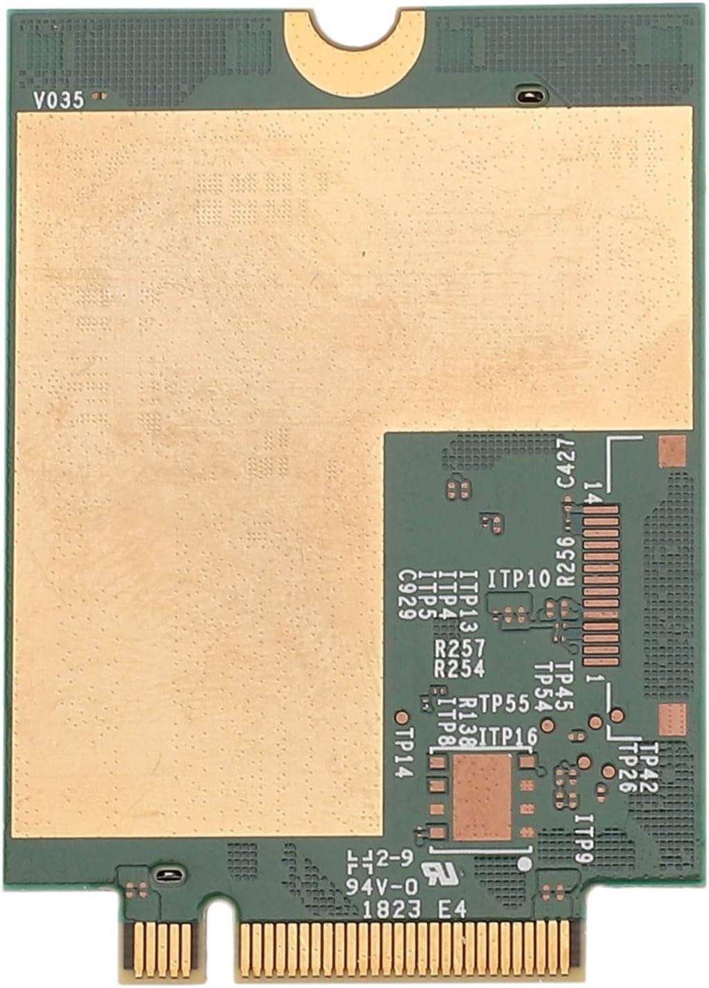 CUHAWUDBA Carte T77W968 DW5821E Snapdragon X20 LTE Cat16 1Gbps FDD-LTE TDD-LTE pour Ordinateur Portable 5420 5424 7424