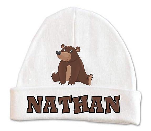 bd4198bbc2e2a Amazon.com  Cute Bear Baby Beanie Hat Boys Winter Kids Warm Toddler ...