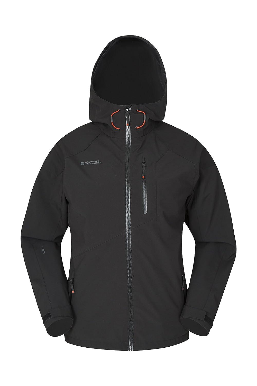 Mountain Warehouse Bachill Mens Waterproof Jacket - Casual Rain Coat