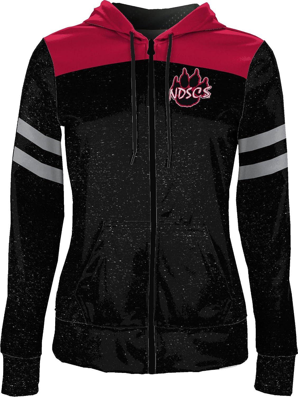 North Dakota State University Girls Zipper Hoodie School Spirit Sweatshirt Brushed