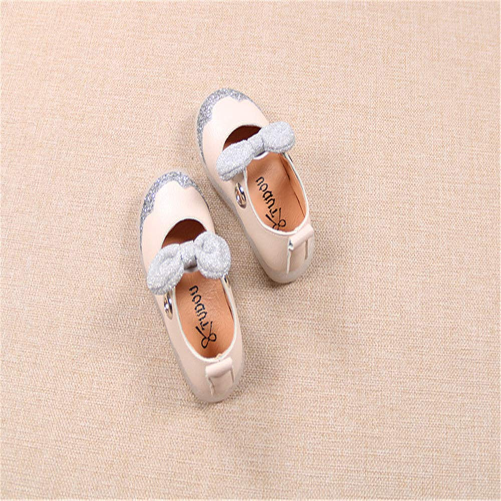 Gusha Cute Toddler Shoes Girls Princess Shoes Walking Shoes Kids Flat Shoes
