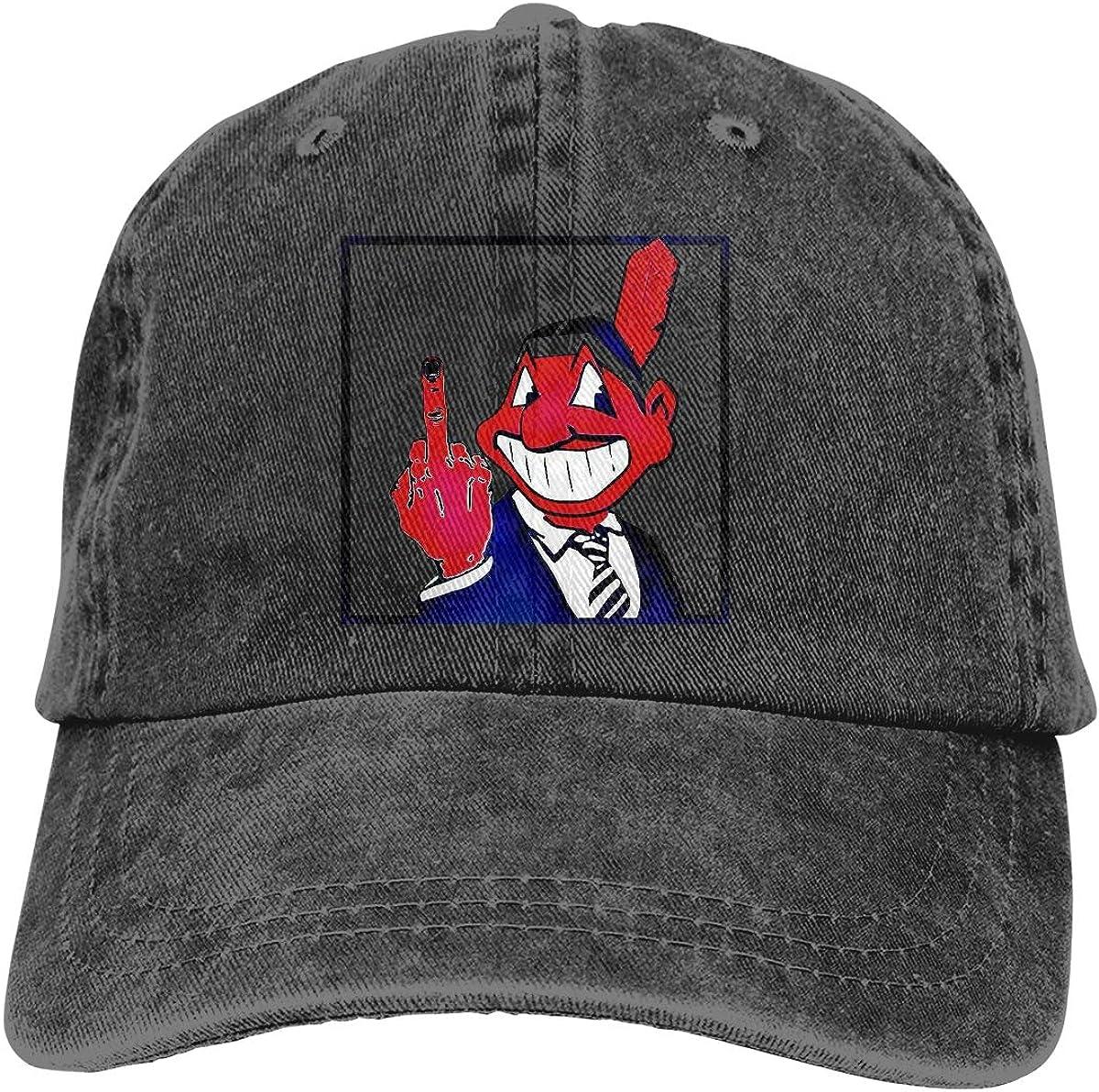 Monerla Ningpu Long Live Chief Wahoo Adjustable Denim Hats