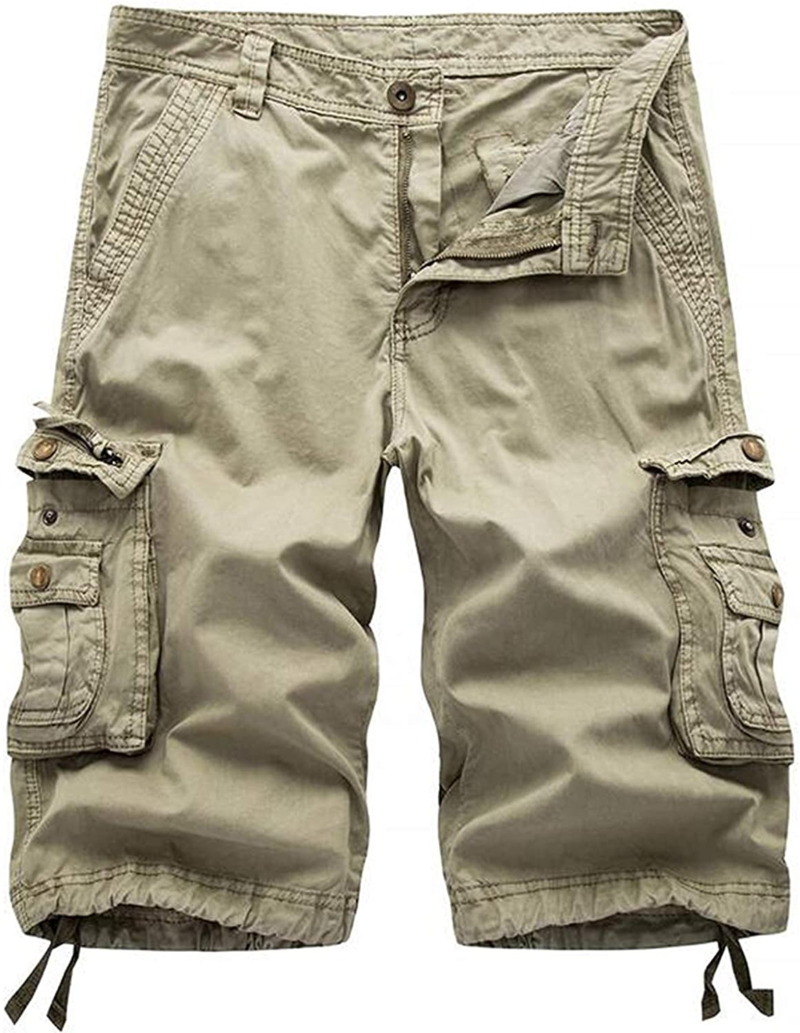 STR Snail Camouflage Cargo Shorts for Men Army Shorts