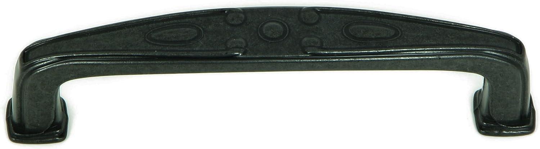 Stone Mill Hardware CP81094-ABR Edinborough Cabinet Pull Antique Brass