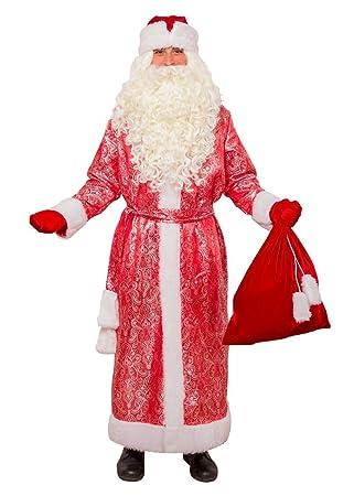 Amazon.com: Traje de Santa Claus, Papá Noël, Ded Moroz, Ruso ...