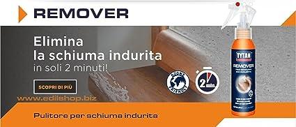 Limpiador para espuma poliuretano Già indurita. Tytan de Remover 100 ml.