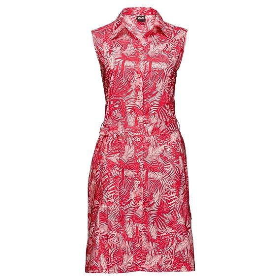 Jack Wolfskin Damen Kleid Sonora Jungle Dress rot (500) XXL