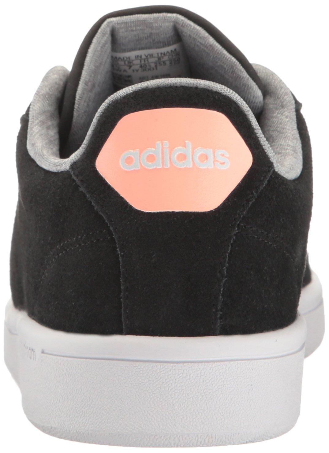 Adidas Women's Cloudfoam M Advantage Clean Fashion Sneaker B01HSIQPLE (7.5 M Cloudfoam US)|Black/Sun Glow 741352