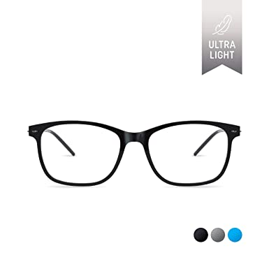 0456d3e5cf8 SQV i-Fit 104 - Ultralight Eyeglasses Frame - Modern Non-prescription  Glasses -