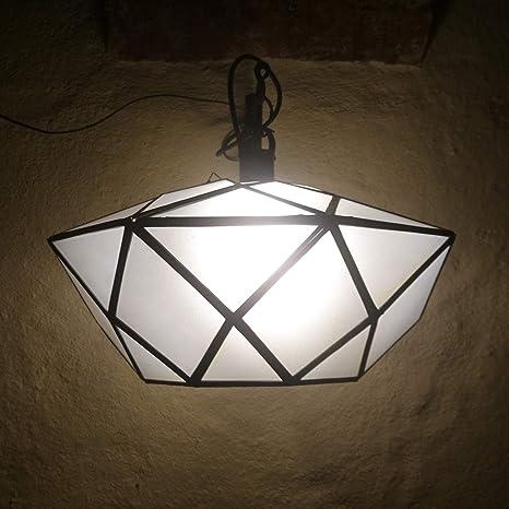 Lámpara de techo oriental de diseño marroquí de Marruecos ...