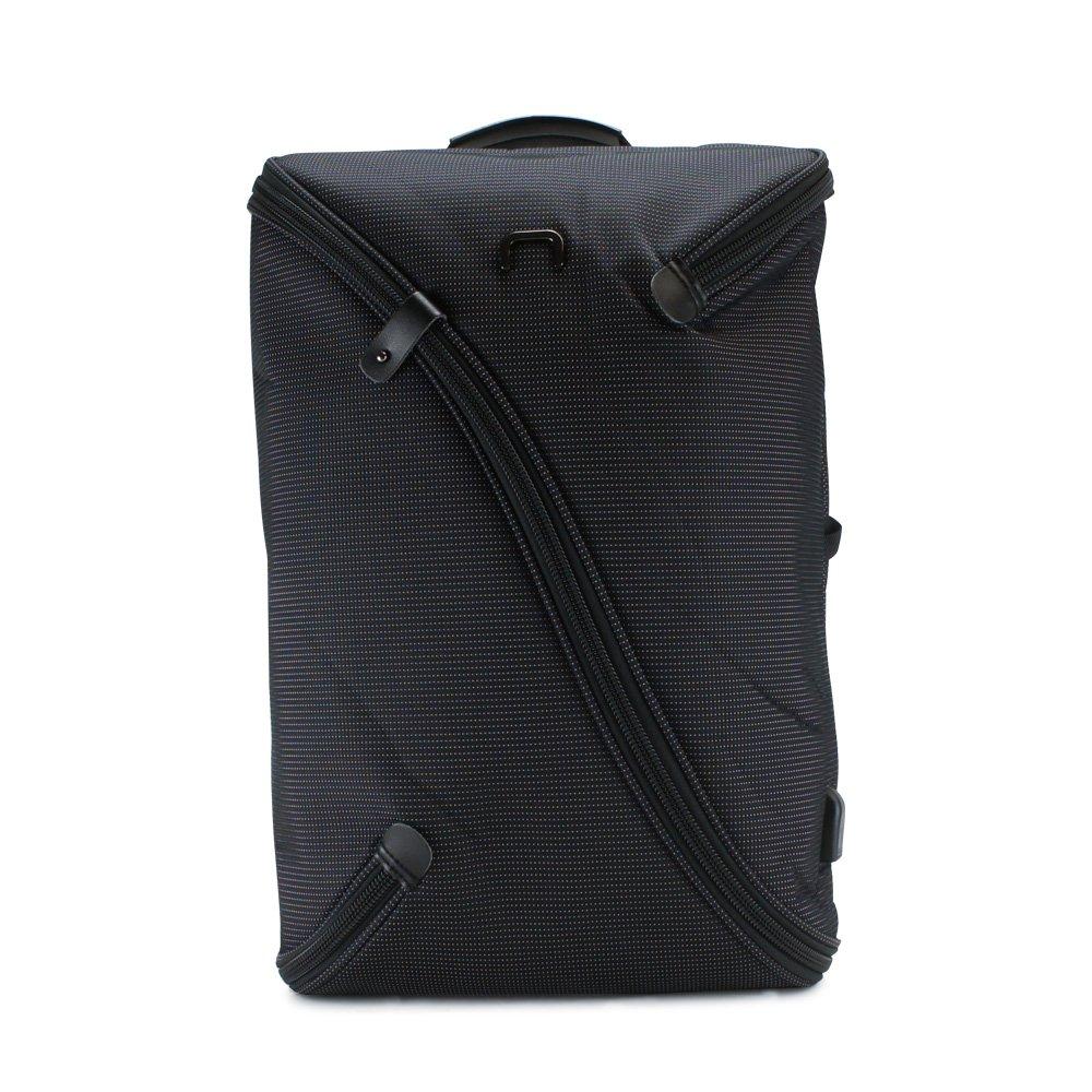[ニード] リュック 30L ビジネスバッグ メンズ UNO  ブラック B07Q8FT68R