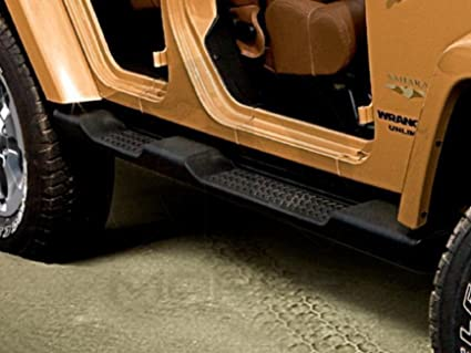 Beautiful 2016 2017 Jeep Wrangler Unlimited Running Boards OEM Mopar 4 Door