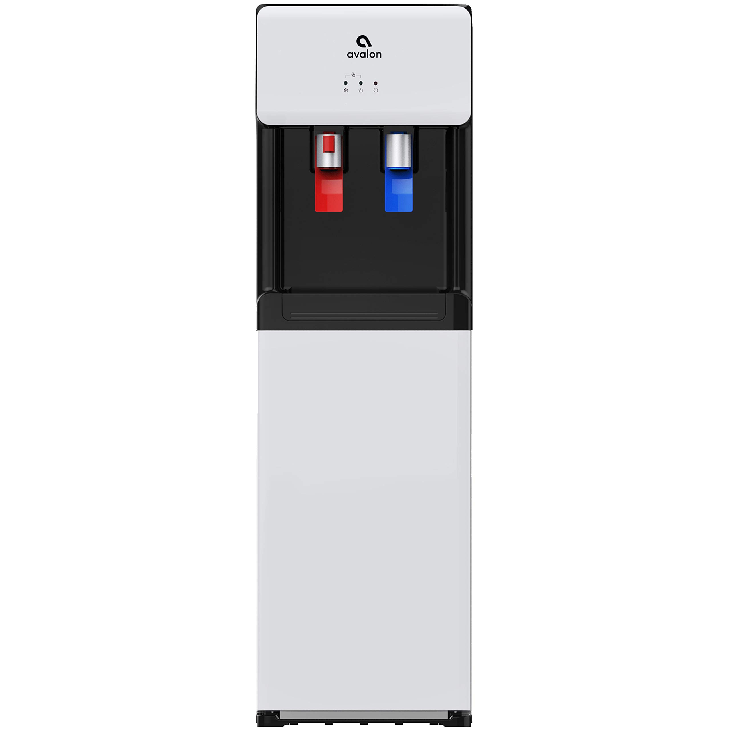 Avalon A6 Bottom Loading Water Cooler Dispenser - Hot & Cold Water, Child Safety Lock, Innovative Slim Design, Holds 3 or 5 Gallon Bottles - UL/Energy Star Approved by Avalon