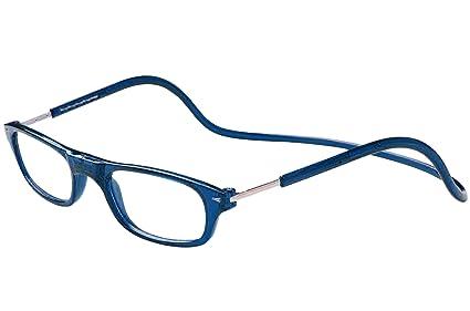 2c71ec8052 TBOC Gafas de Lectura Presbicia Vista Cansada - Montura Azul Graduadas  +1.50 Dioptrías Hombre Mujer