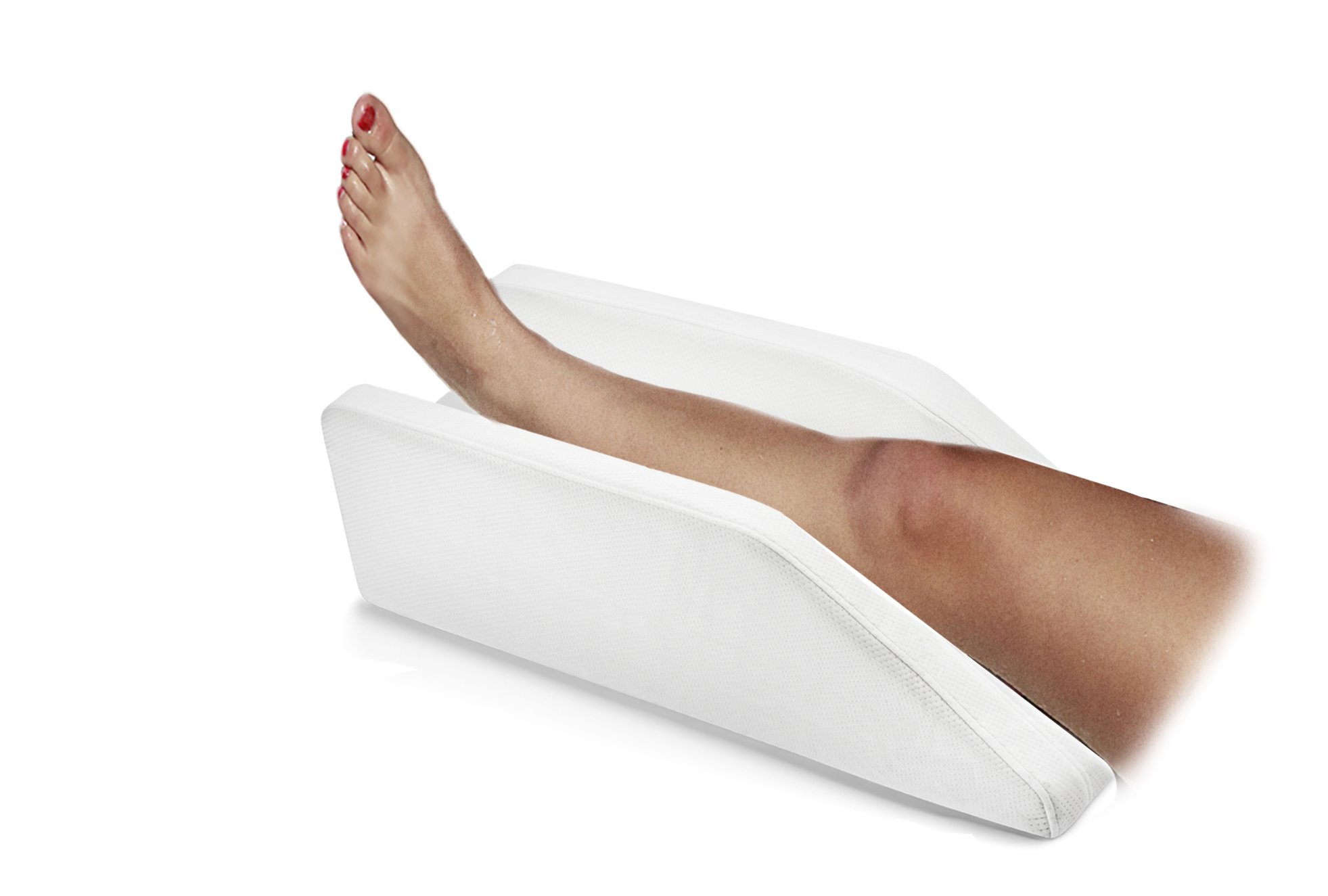 Pure Comfort Leg, Knee, Ankle Support and Elevation Pillow | Surgery | Injury | Rest | (Standard)
