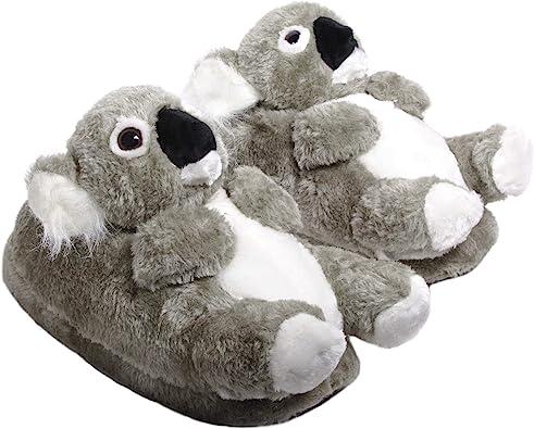 Sleeper Z Koala Zapatillas De Casa Animales Originales Y Divertidas Adultos Y Niños Hombre Y Mujer 34 36 S Amazon Es Zapatos Y Complementos