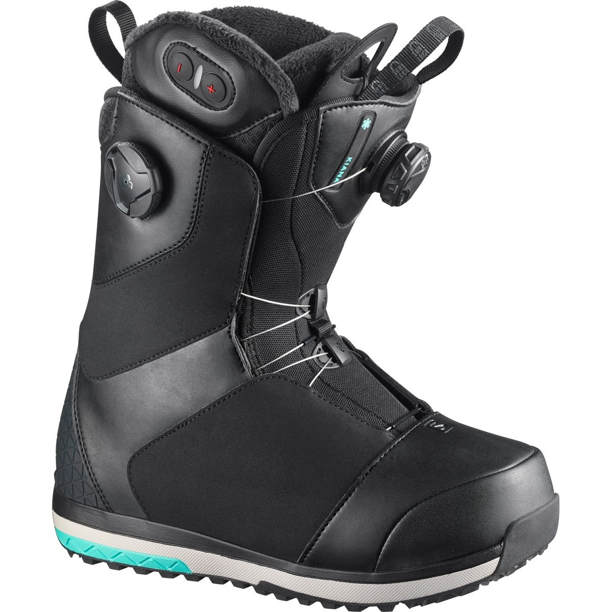 Salomon Snowboards Kiana Toast Focus Boa Snowboard Boot - Women's Black, 7.0 by Salomon Snowboards