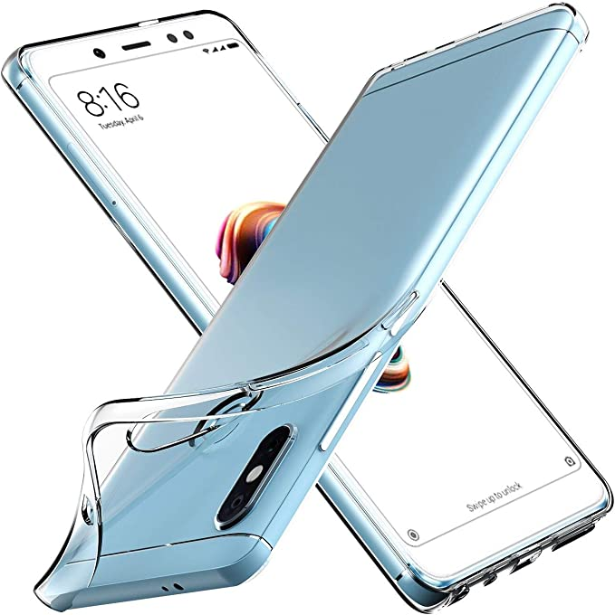 ivoler Funda Carcasa Gel Transparente para Xiaomi Redmi Note 5 ...
