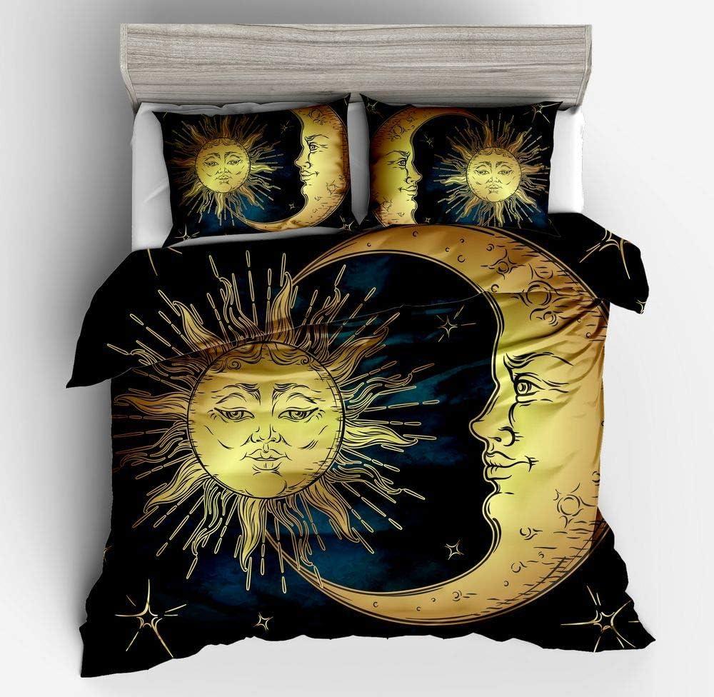 King size Golden cat high-resolution 3D Print Bed Set Duvet Cover pillowcase