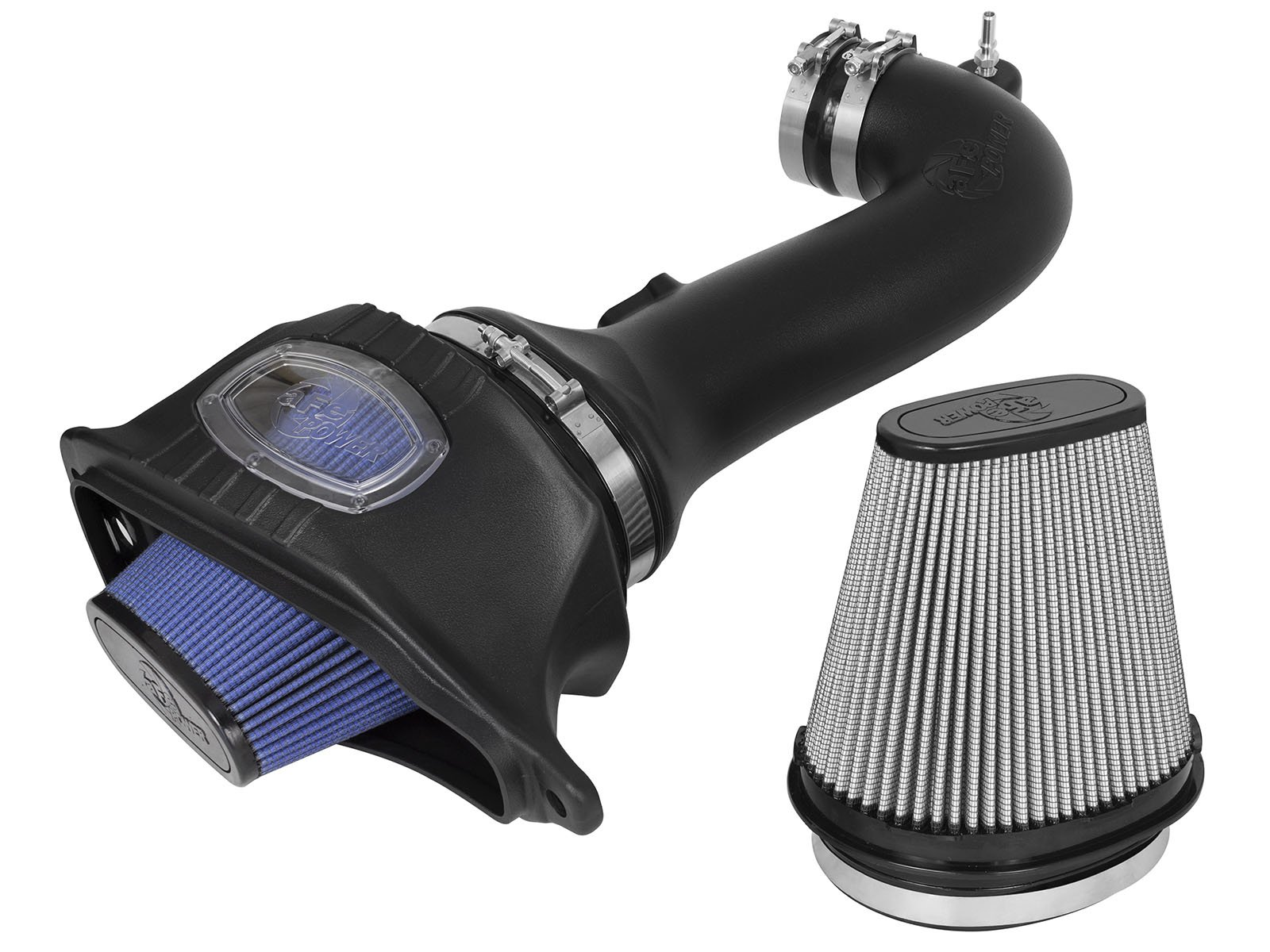 aFe Power 52-74202-1 Momentum Performance Intake System (Non CARB Compliant, Dry, 3-Layer Filter/Oiled, 5-Layer Filter)