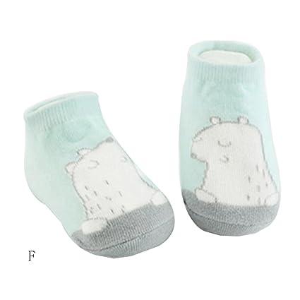 Calcetines longra recién nacido antideslizante calcetines para bebé ...
