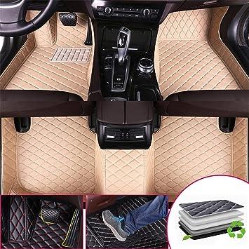 Anti Scrape Leather Car Trunk Mat Carpet Fit for Audi Q7 2006-2015 5 Seats