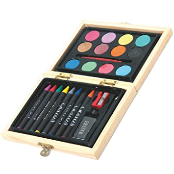 Maletín de Pintura para Niños. Portable y Completo Kit de ...