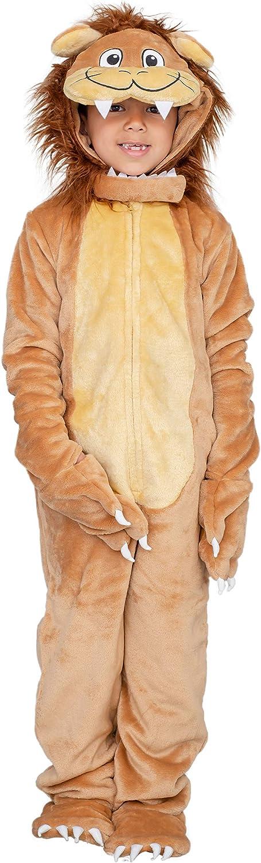 Child Lion Flappy Suit Halloween Costume Jumpsuit