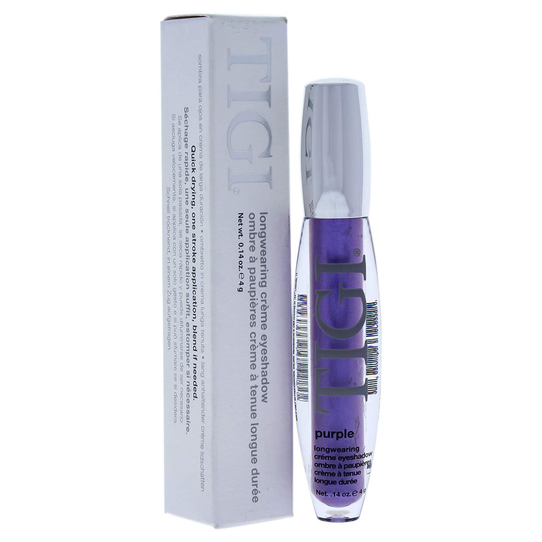 TIGI Longwearing Creme Eye Shadow for Women, Purple, 0.14 Ounce