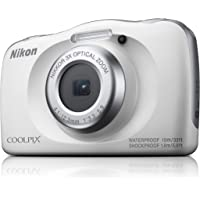 Nikon W150 Australian Warranty Nikon Coolpix Digital Camera, White (VQA110AA)