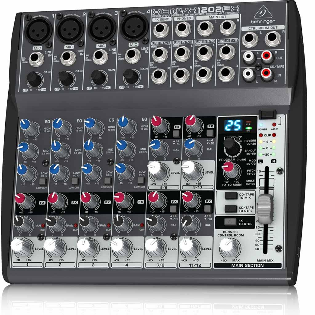 behringer xenyx 1202fx mixing console musical instruments. Black Bedroom Furniture Sets. Home Design Ideas